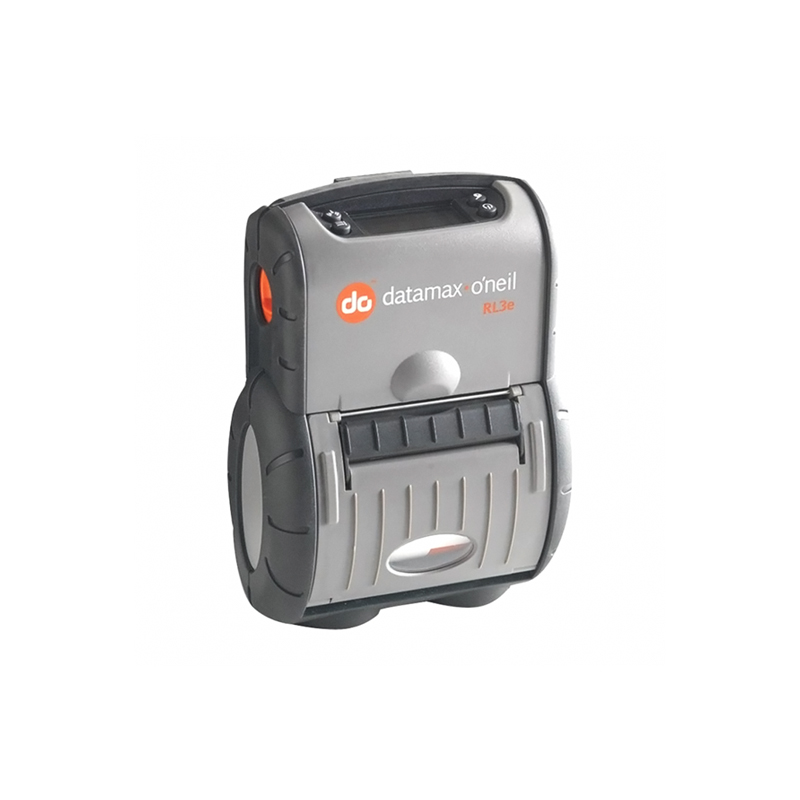 RL3e, 3in Label Printer, 64MB/128MB, 802.11 a/b/g/n & BT2.1, Serial/USB, ECharge, LCD