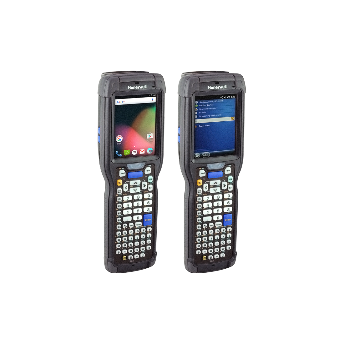 CK75/Alphanumeric/5603ER Imager/No Camera/802.11abgn/Bluetooth/Android 6 GMS/Client Pack/Std Temp/ETSI & World Wide